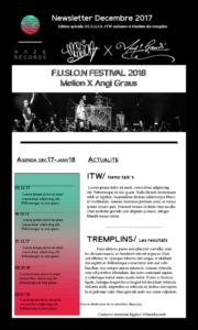 Newsletter Particuliers
