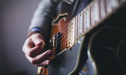 Guitariste - François Bâty